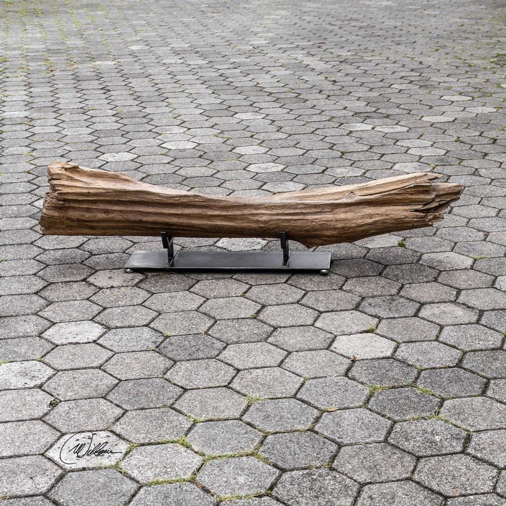 Anastagio Teak Sculpture by Uttermost