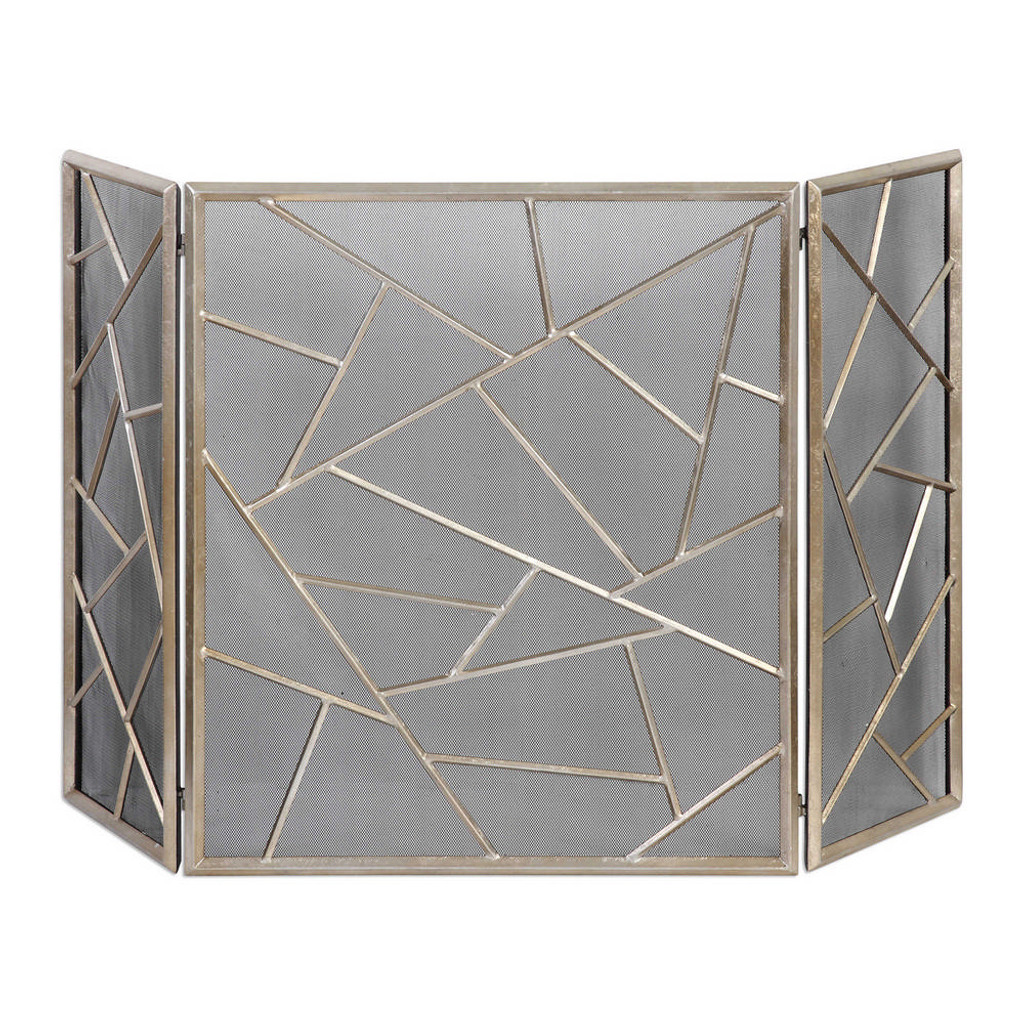 Armino Fireplace Screen by Uttermost