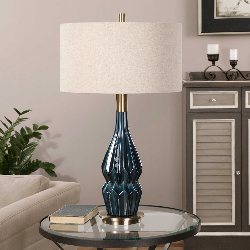Prussian Table Lamp by Uttermost