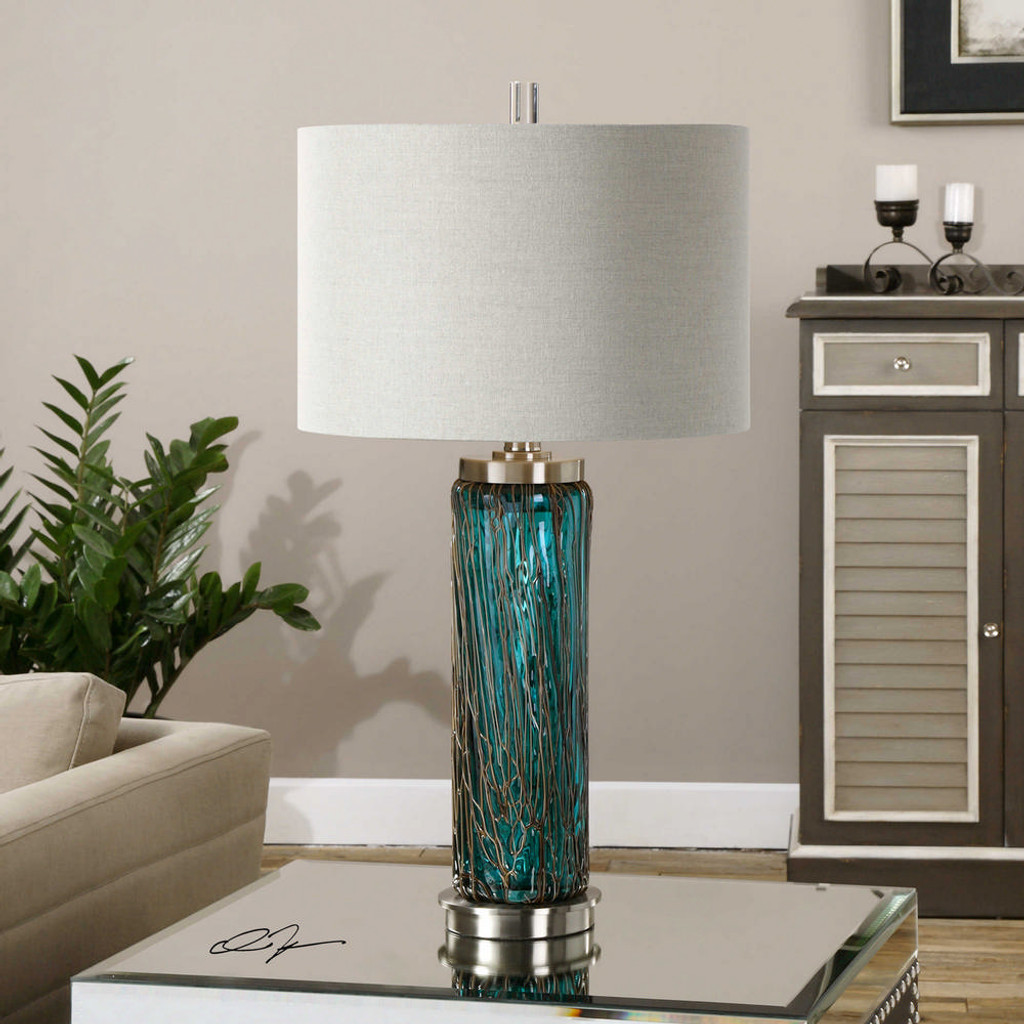Almanzora Table Lamp by Uttermost