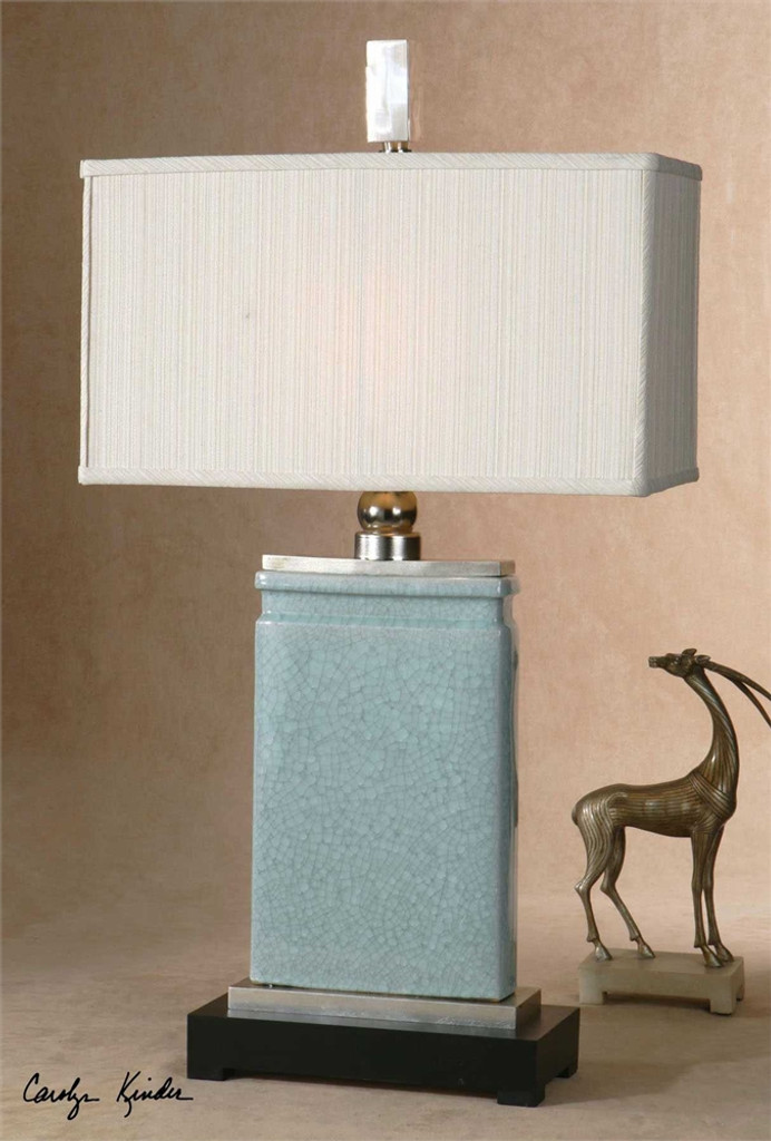 Azure Table Lamp - by Uttermost