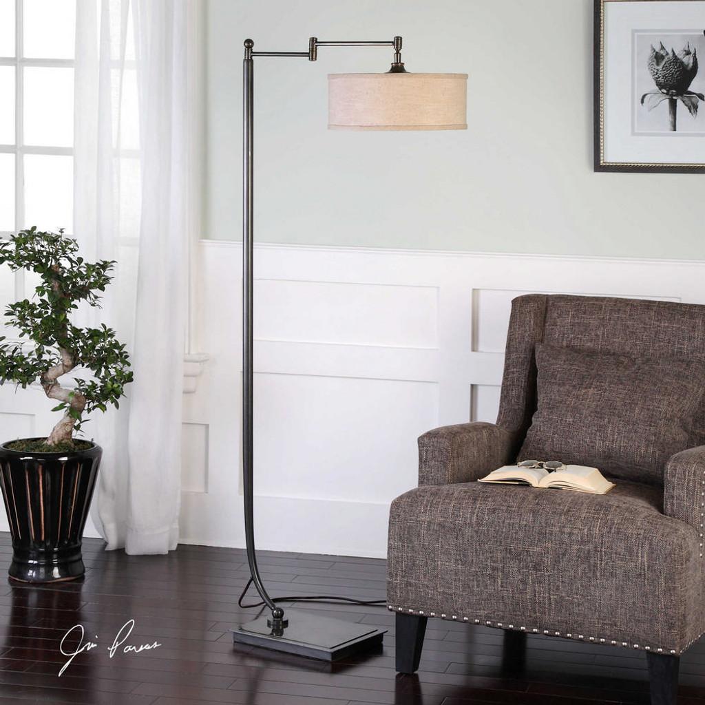 Lamine Floor Lamp by Uttermost