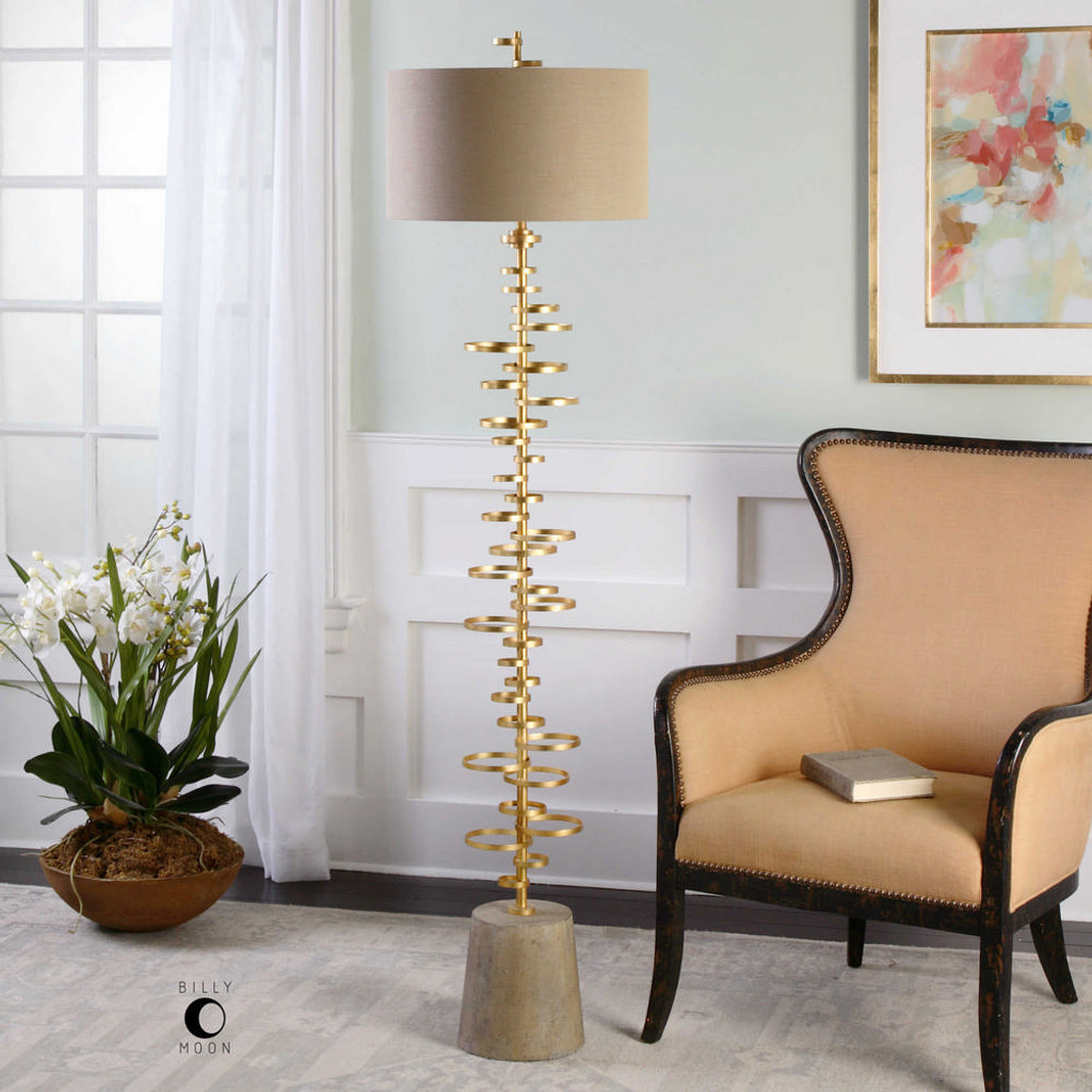 Lostine Floor Lamp by Uttermost