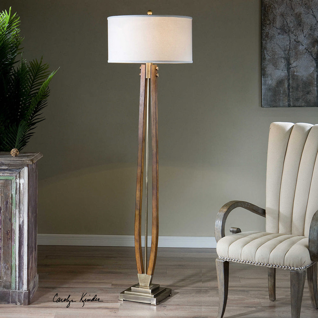 Boydton Floor Lamp by Uttermost