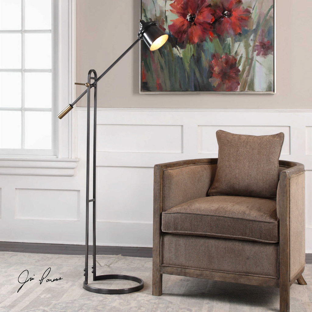 Chisum Floor Lamp by Uttermost