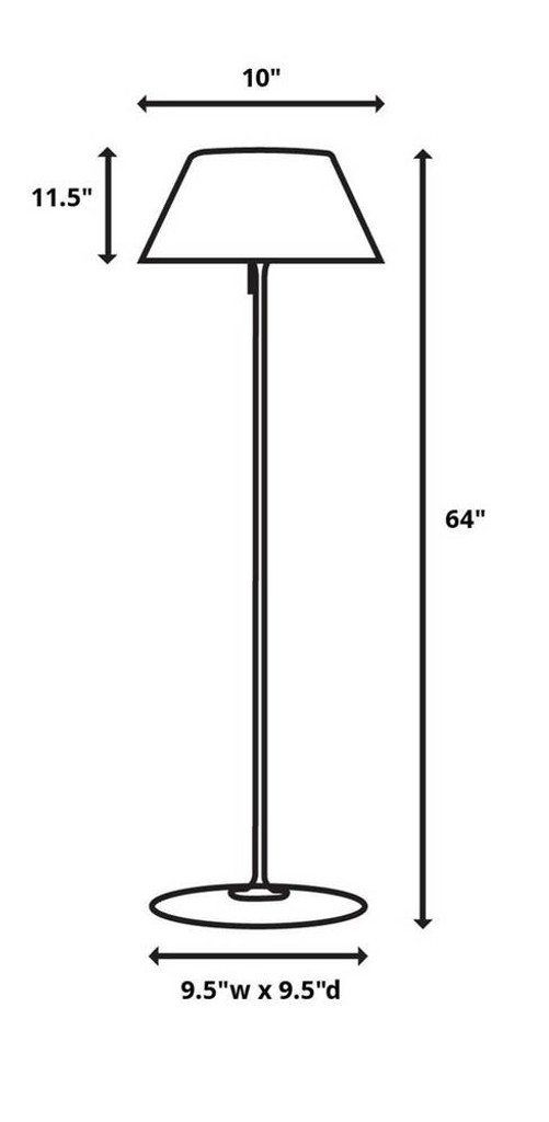 Emmanuel Floor Lamp 2 Per Box by Uttermost