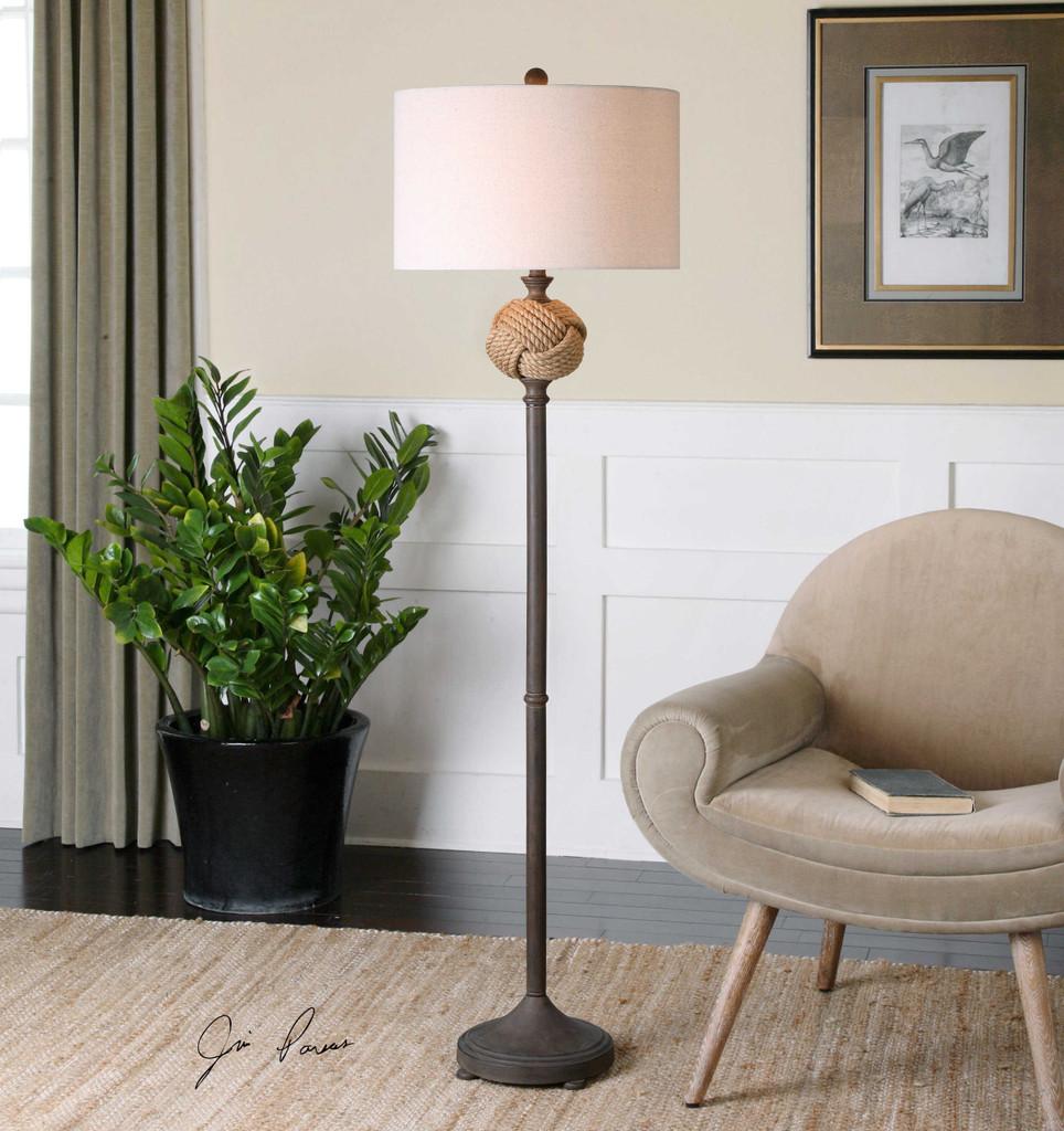 Higgins Floor Lamp by Uttermost