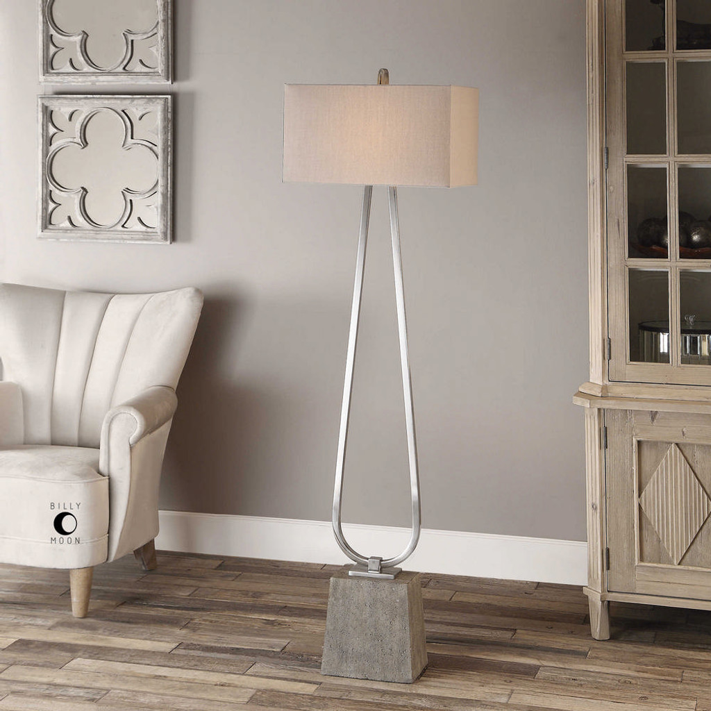 Carugo Floor Lamp by Uttermost