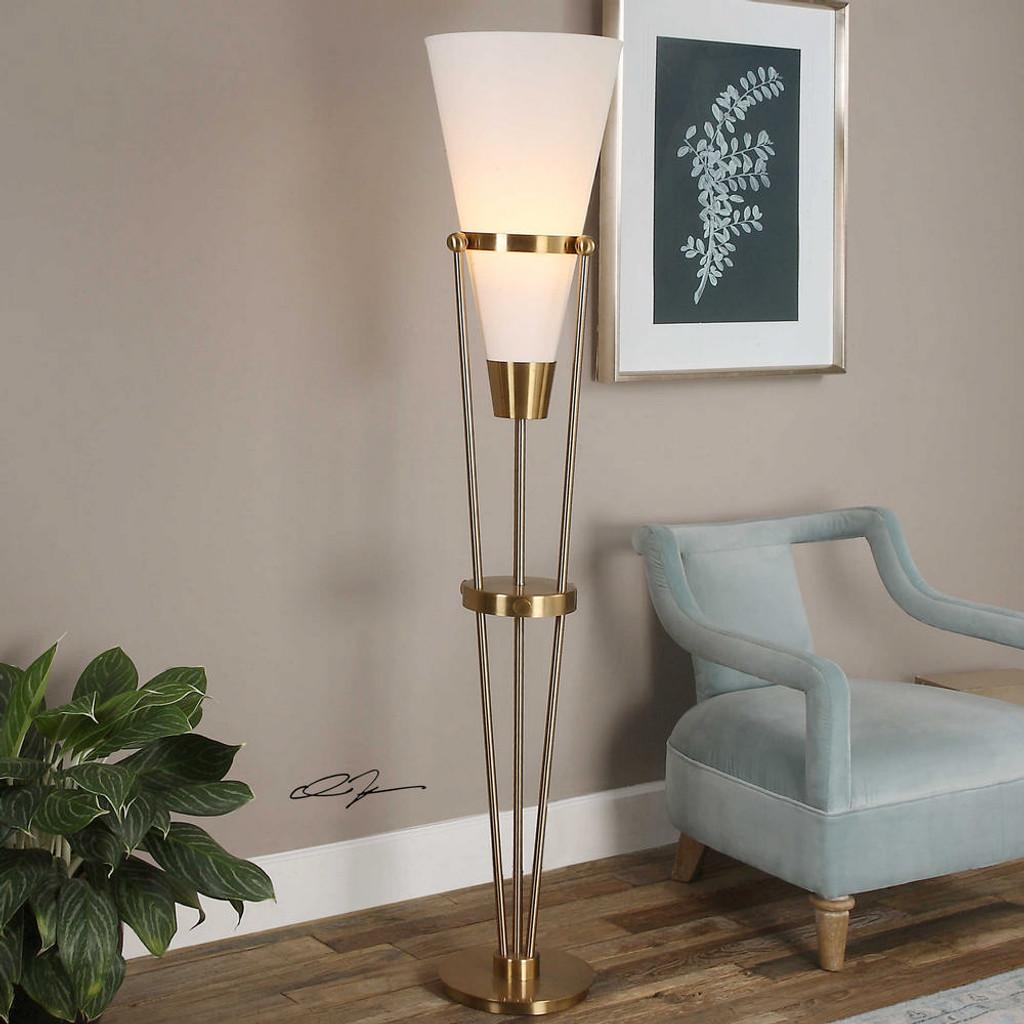 Bergolo Floor Lamp by Uttermost