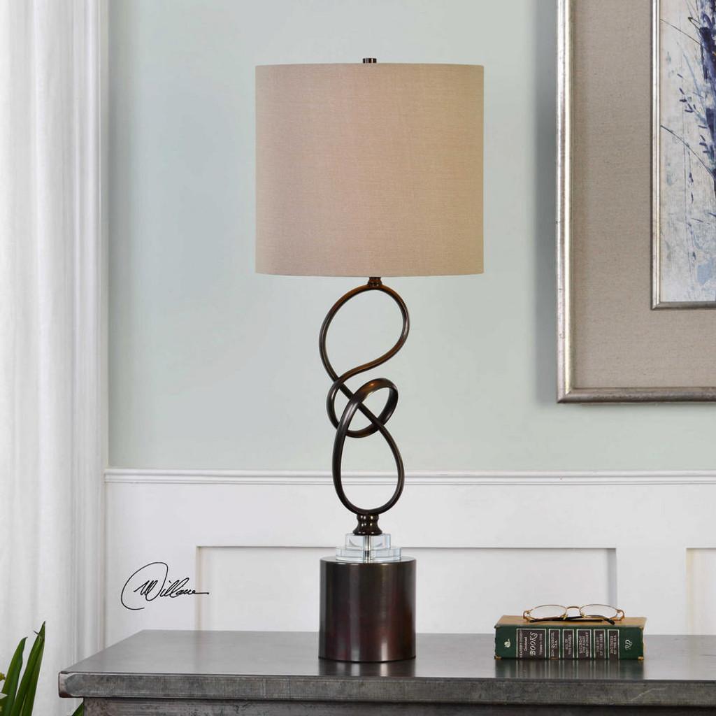 Aprilia Buffet Lamp by Uttermost