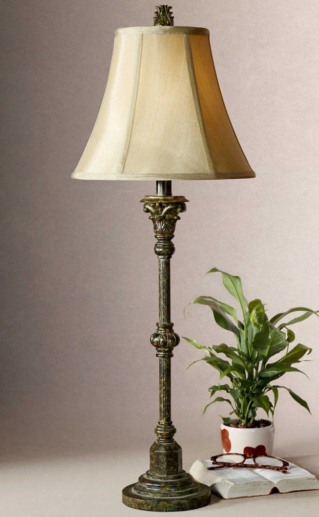 Furrow Buffet Lamp 2 Per Box by Uttermost