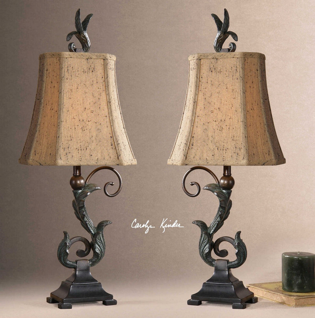 Caperana Accent Lamps S/2 by Uttermost