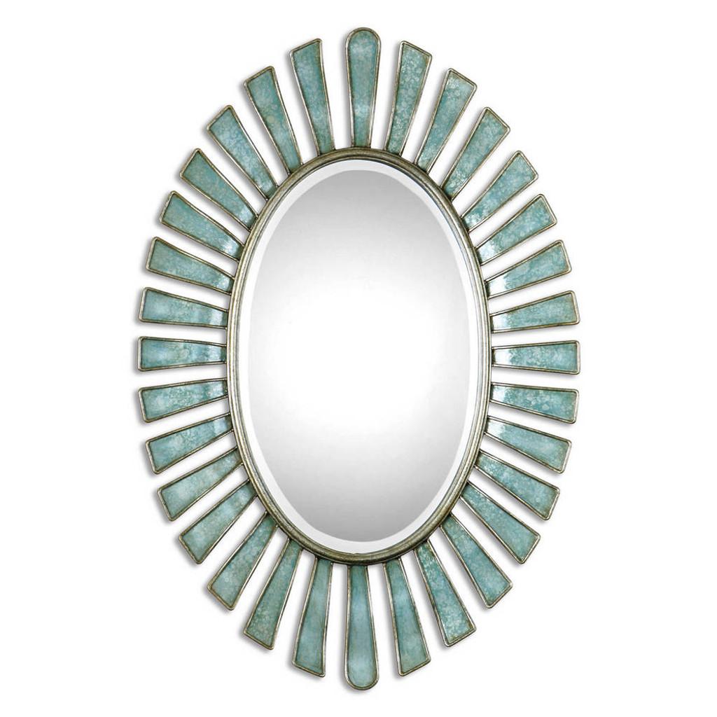 Morvoren Oval Mirror by Uttermost