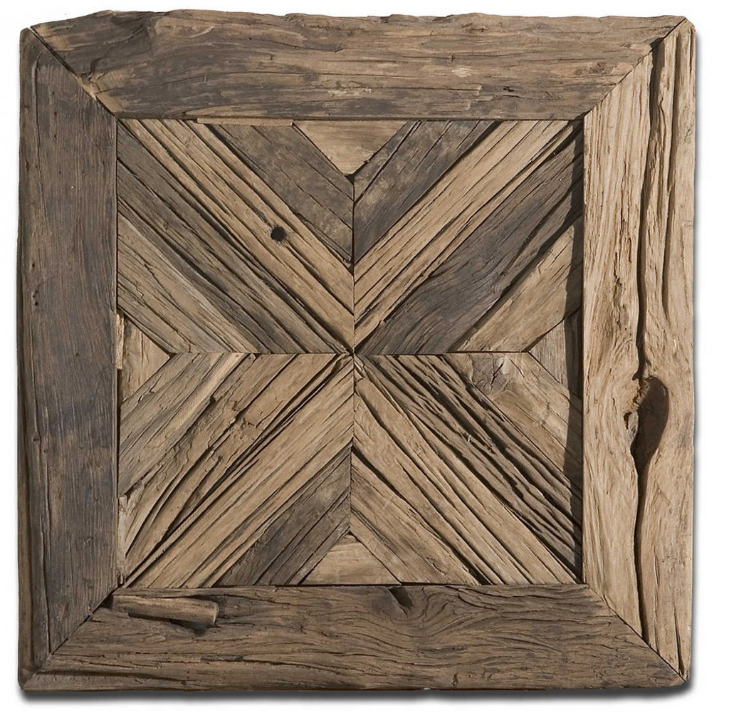 Rennick Wood Wall Square by Uttermost