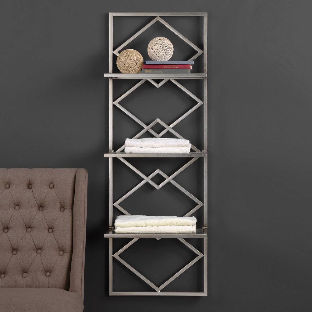 Silvia Wall Shelf by Uttermost