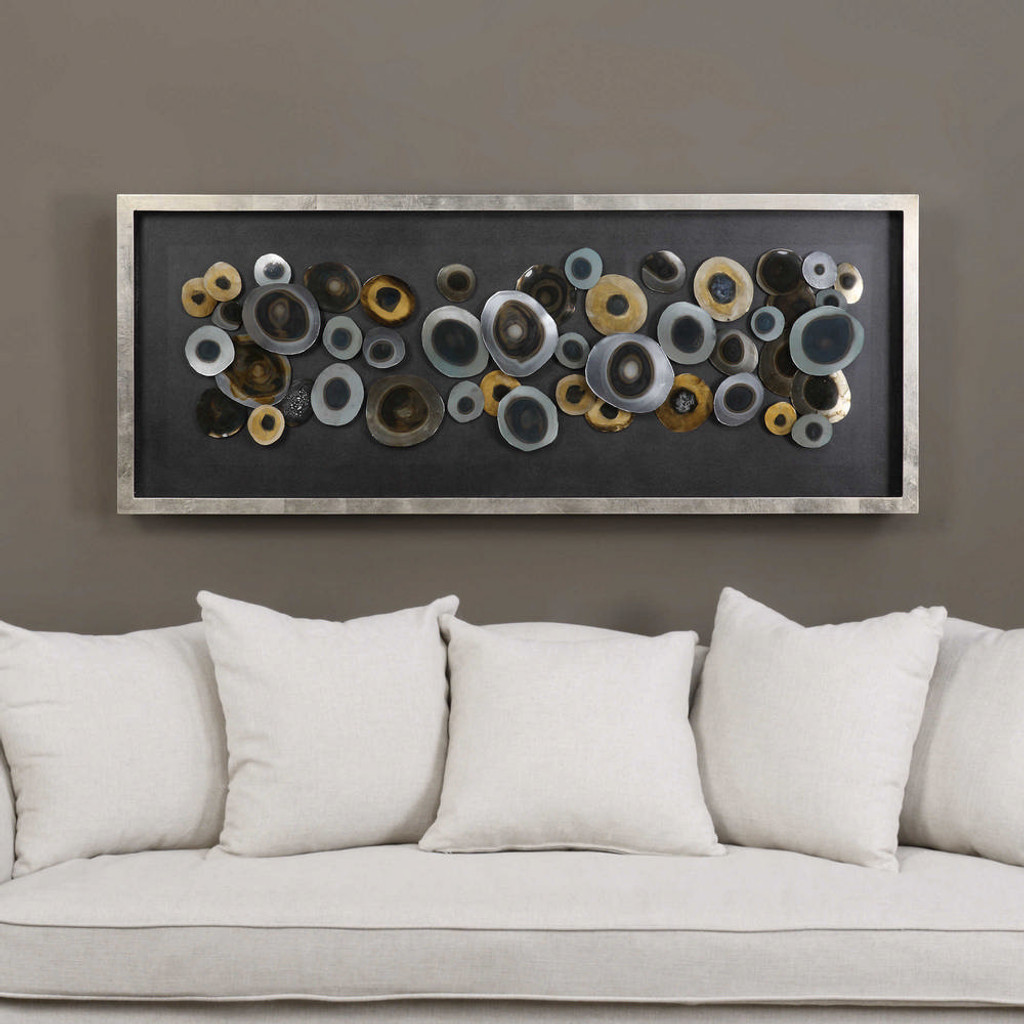 Discs Shadow Box by Uttermost