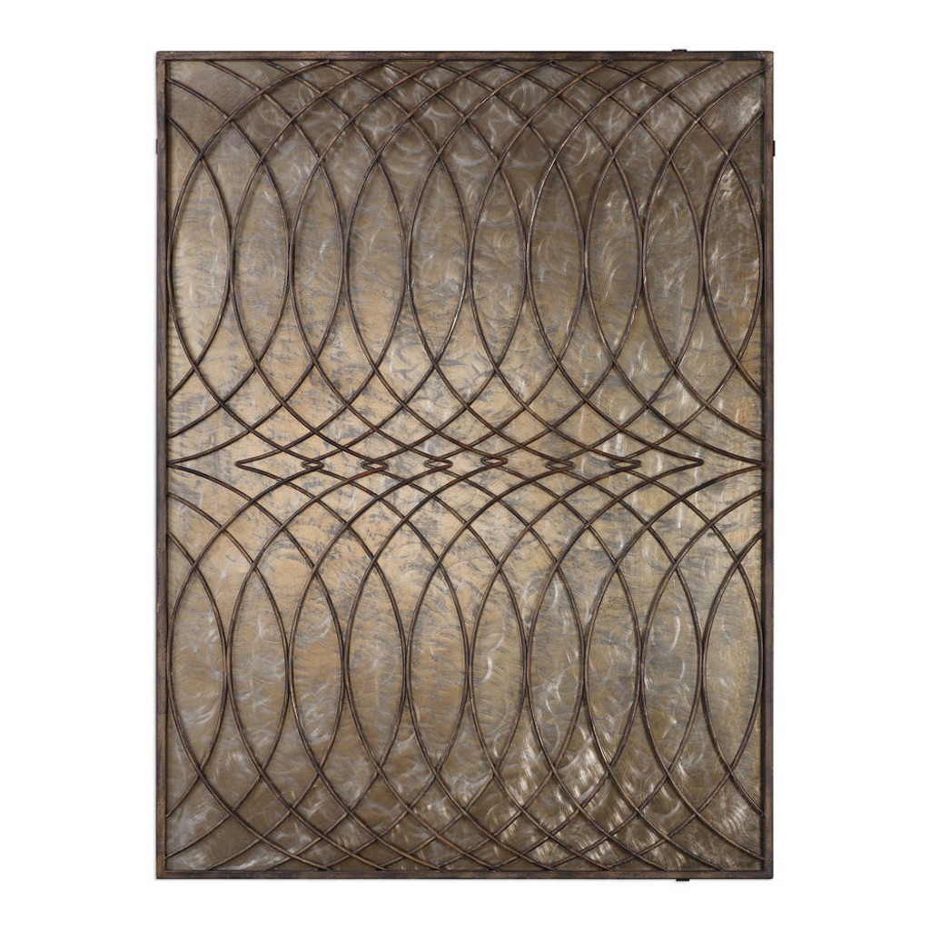 Kanza Metal Wall Panel by Uttermost