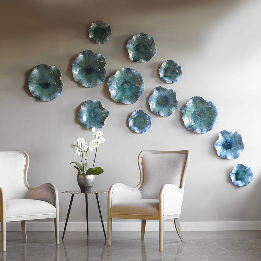 Abella Ceramic Wall Decor S/3 by Uttermost