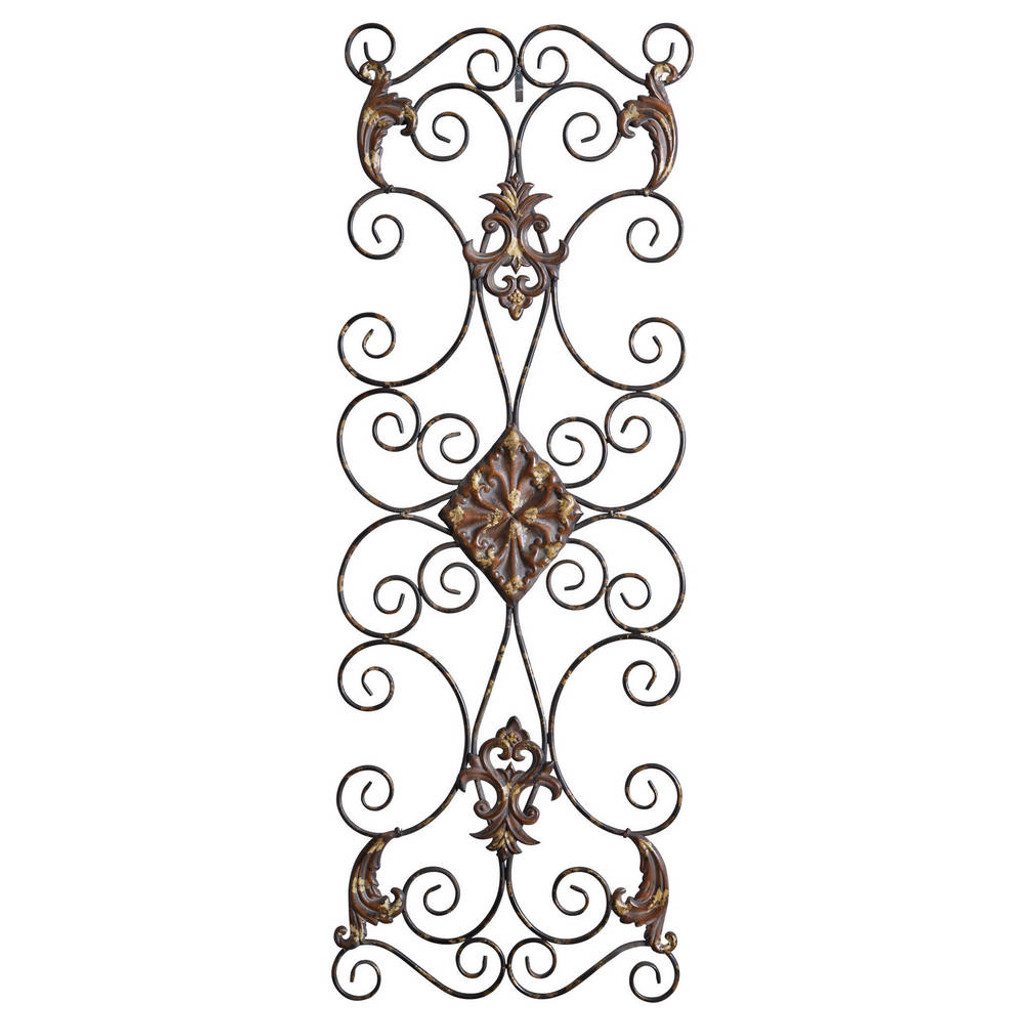 Fayola Metal Wall Panel by Uttermost