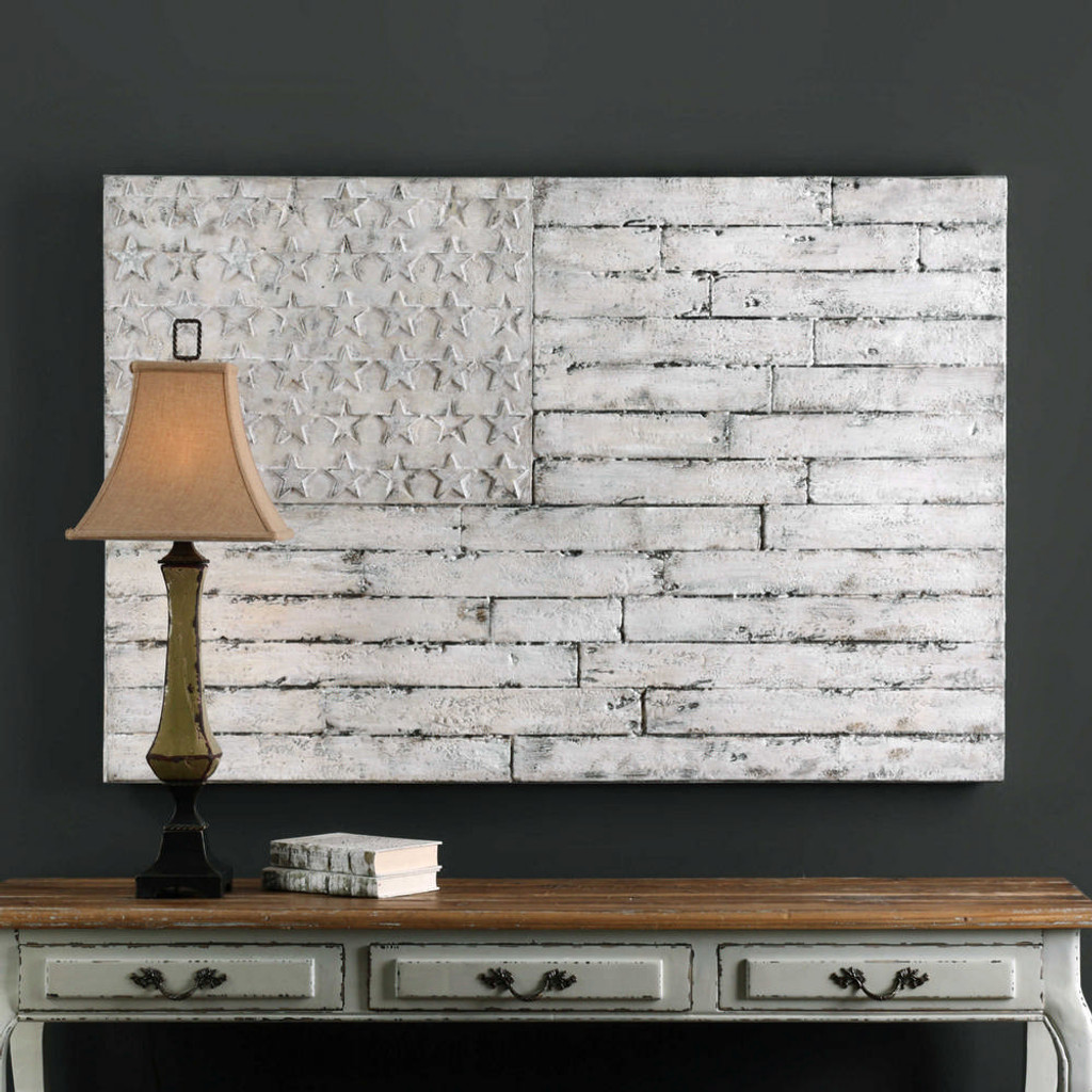 Blanco Hand Painted Canvas by Uttermost