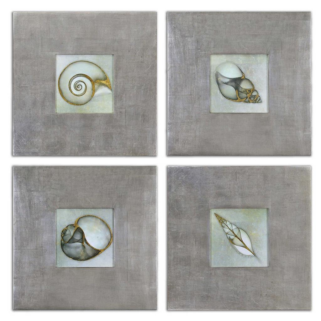 Neptune's Garden Framed Prints S/4 by Uttermost