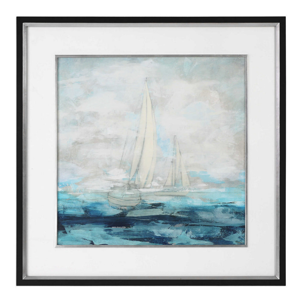 Into The Distance Framed Print by Uttermost