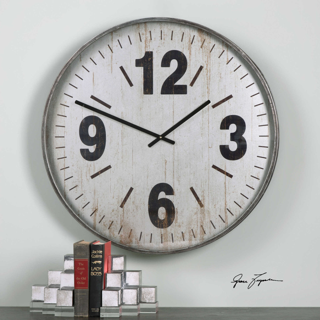 Marino Wall Clock by Uttermost