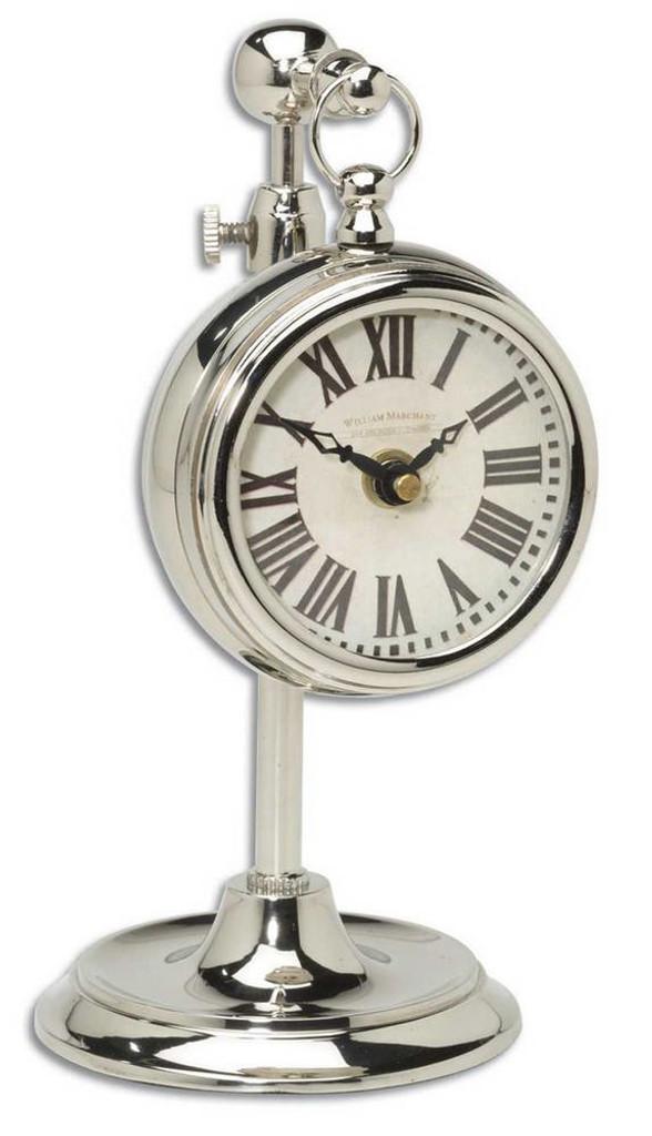 Pocket Watch Nickel Marchant Cream by Uttermost