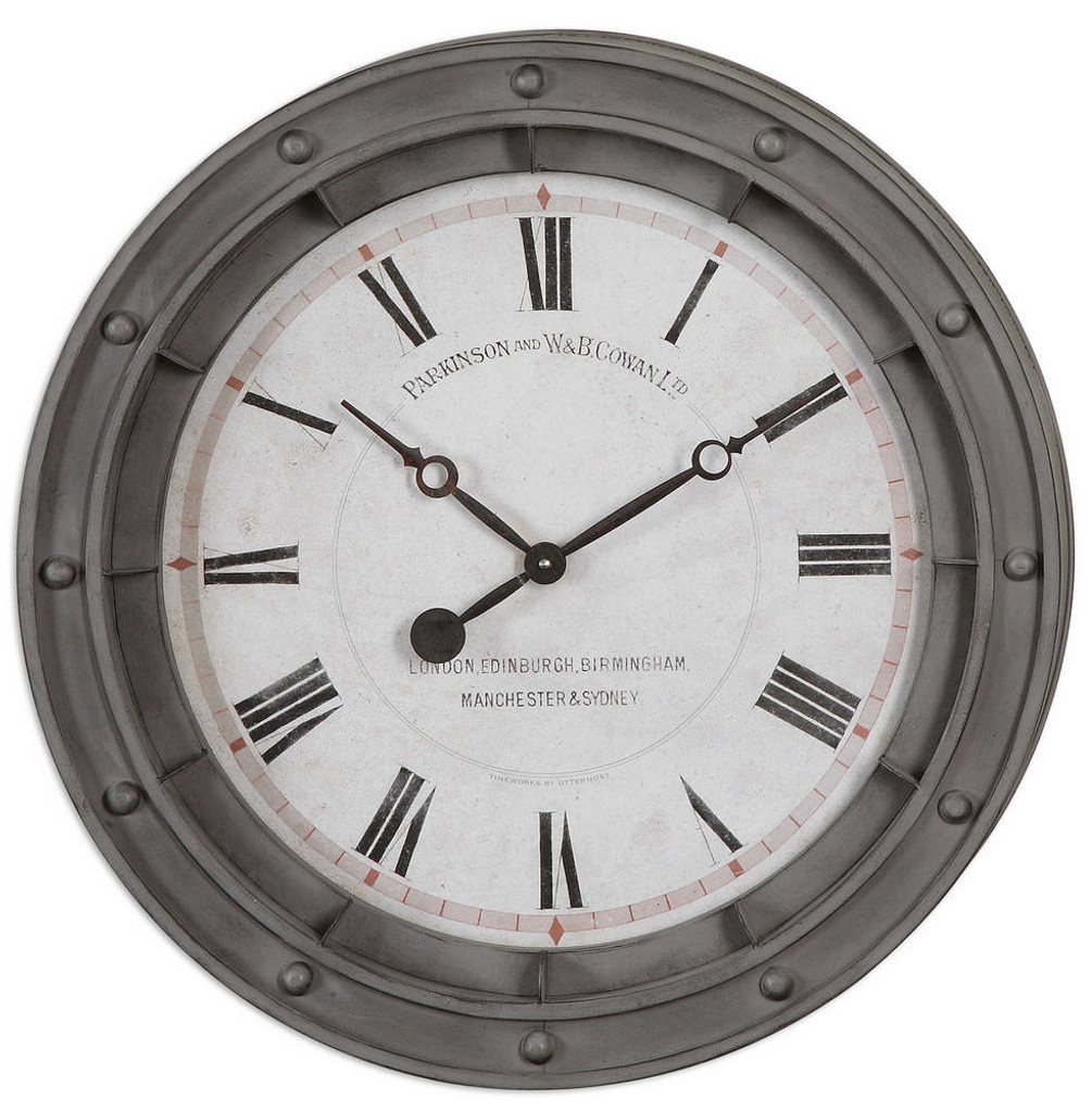 Porthole Wall Clock by Uttermost