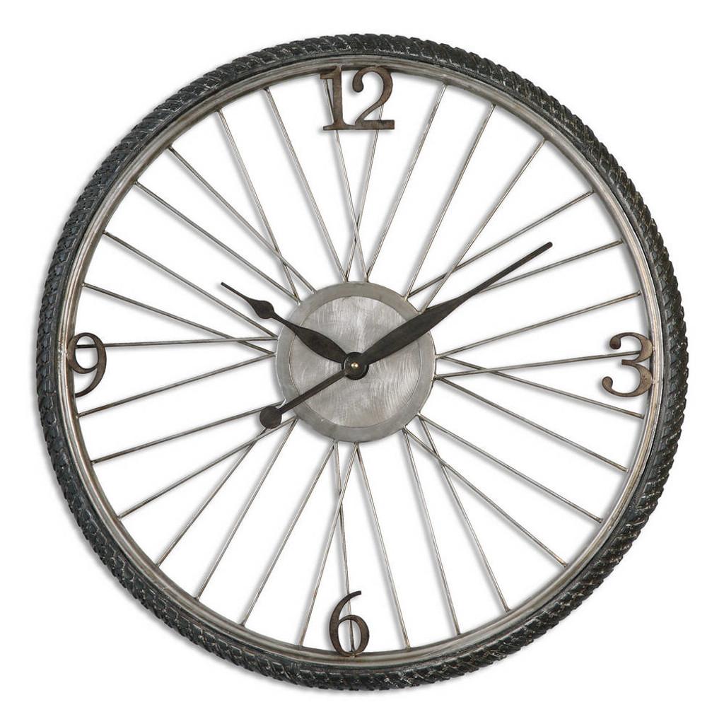 Spokes Wall Clock by Uttermost