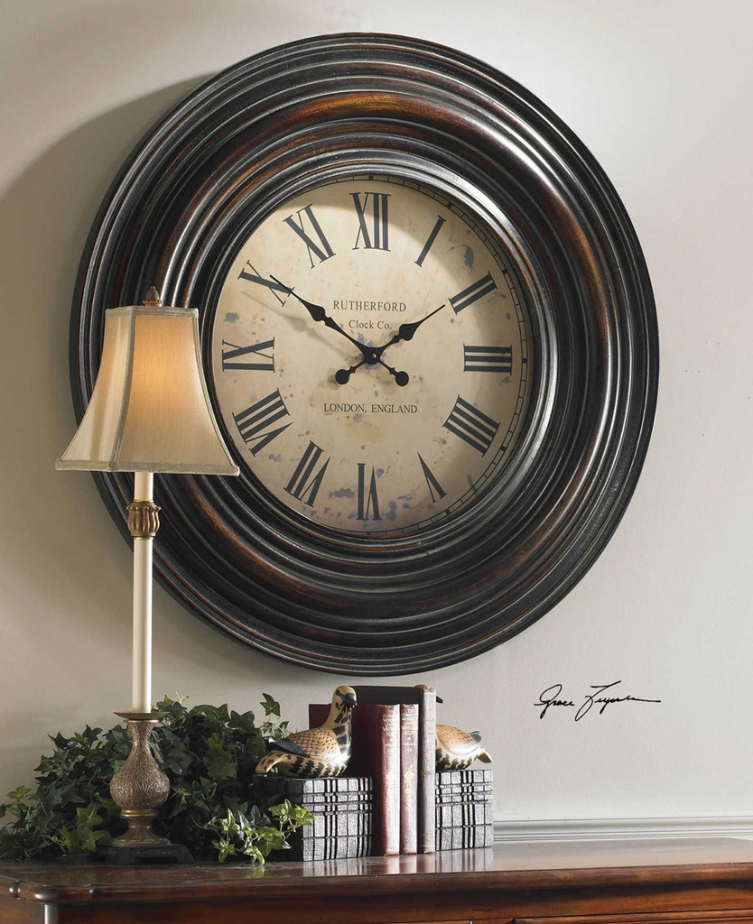 Trudy Wall Clock by Uttermost