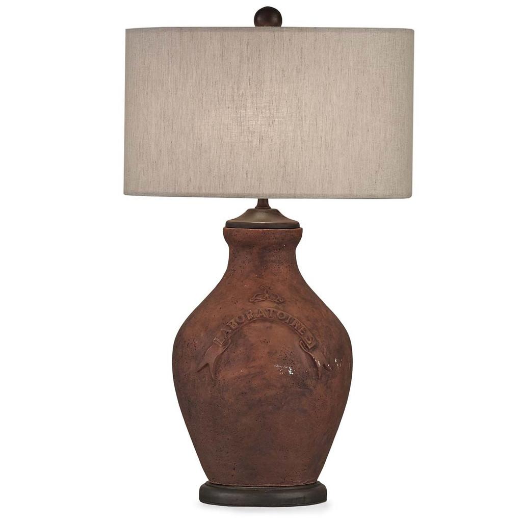 Mason Table Lamp - Size: 68H x 46W x 46D (cm)