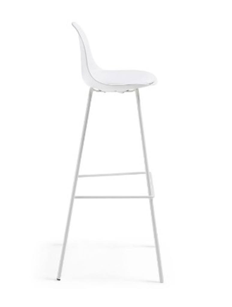 Lysna Counter Stool - White