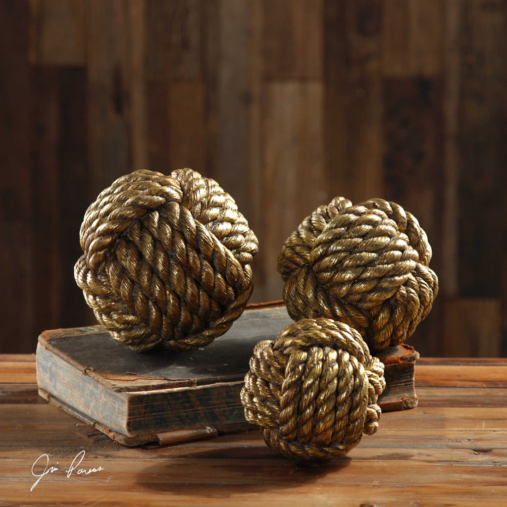 Tali Spheres S/3 by Uttermost