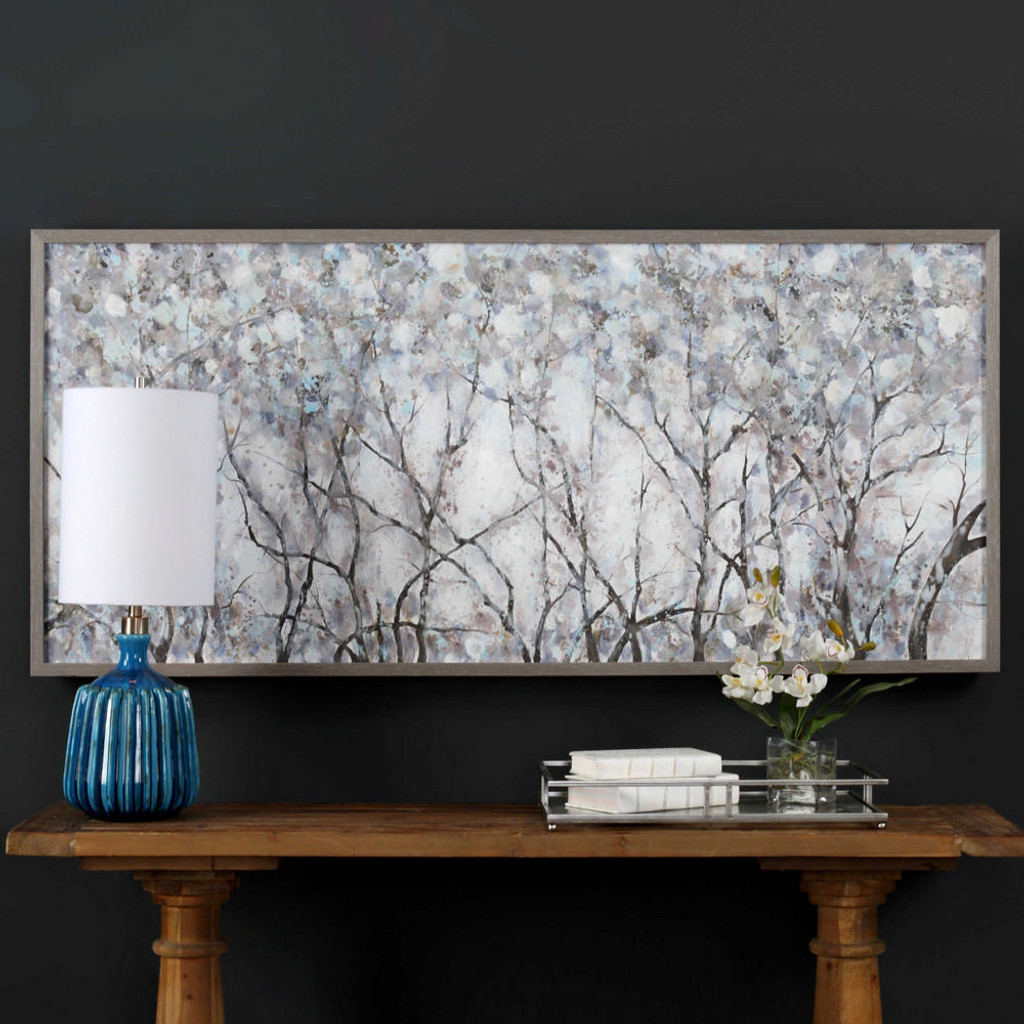 Canopy of Lights Hand Painted Canvas by Uttermost