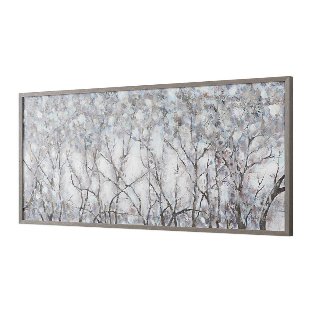 Canopy of Lights Hand Painted Canvas