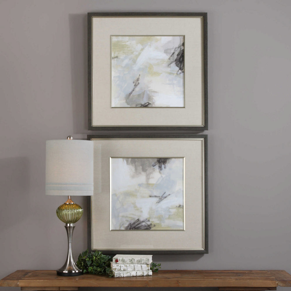 Abstract Vistas Framed Prints S/2 by Uttermost