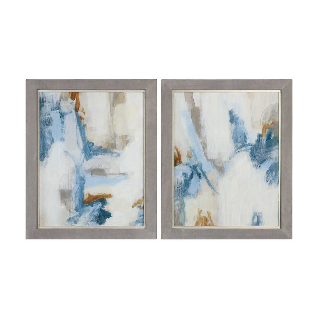 Intermittent Framed Prints S/2 by Uttermost
