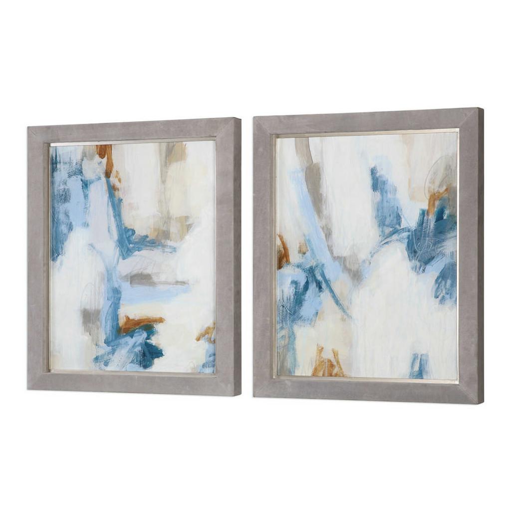 Intermittent Framed Prints S/2
