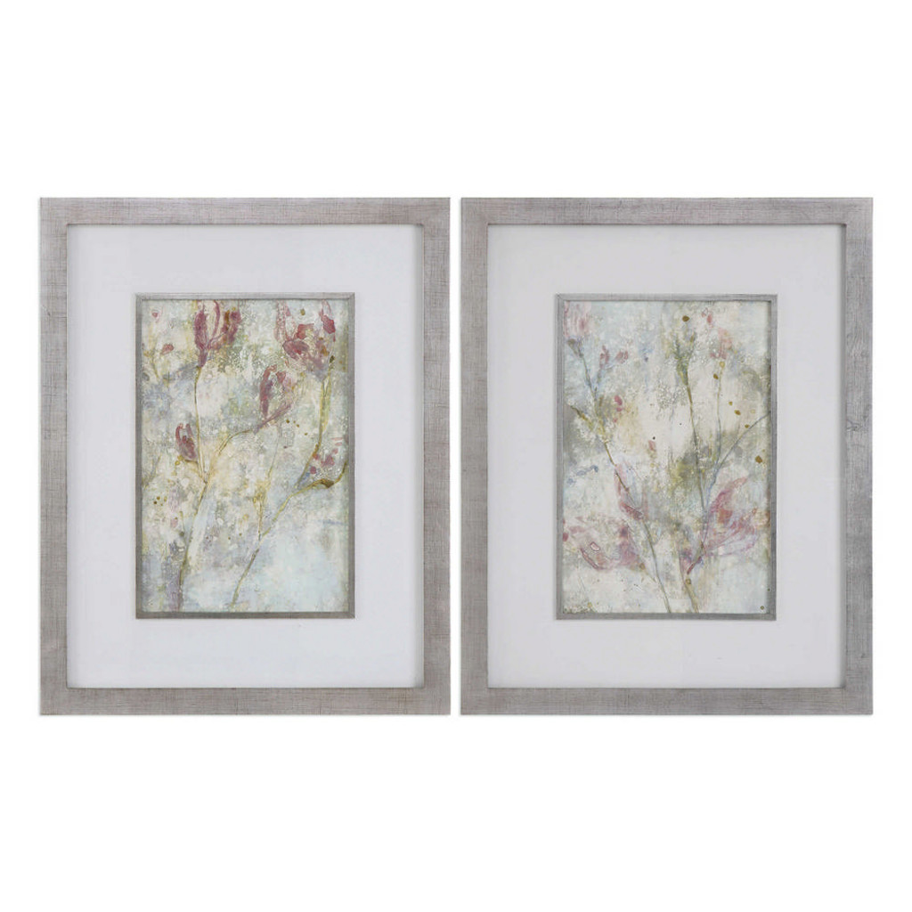 Flower Dreams Framed Prints S/2 by Uttermost
