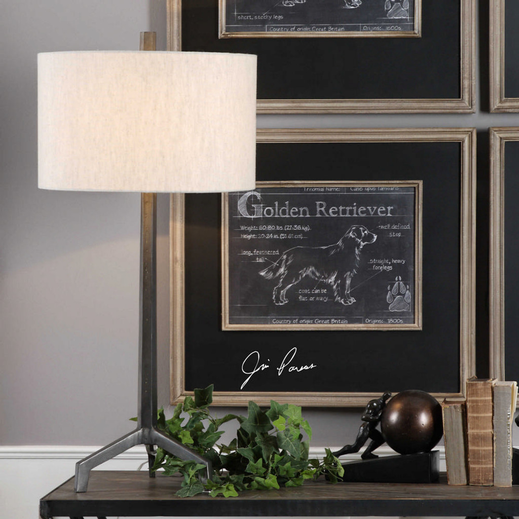 Ivor Table Lamp by Uttermost