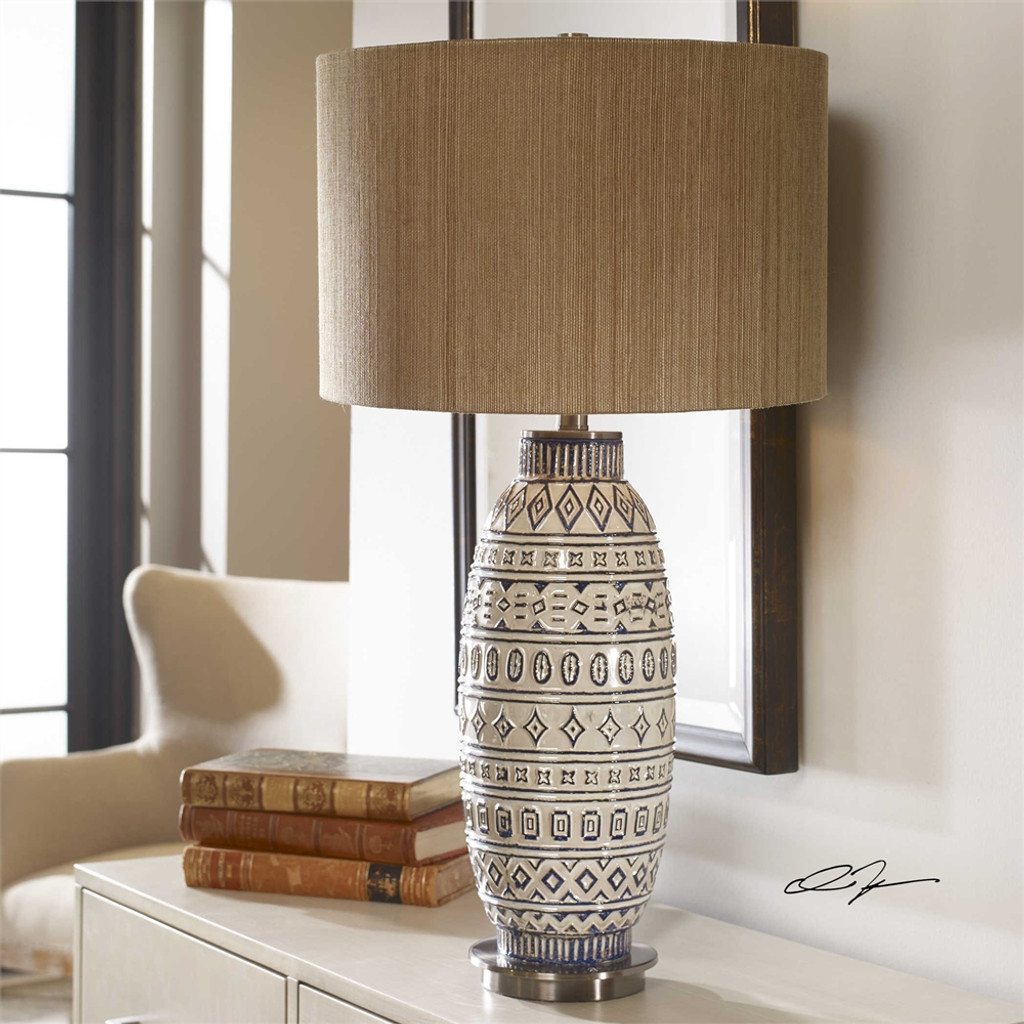 Lokni Table Lamp - by Uttermost