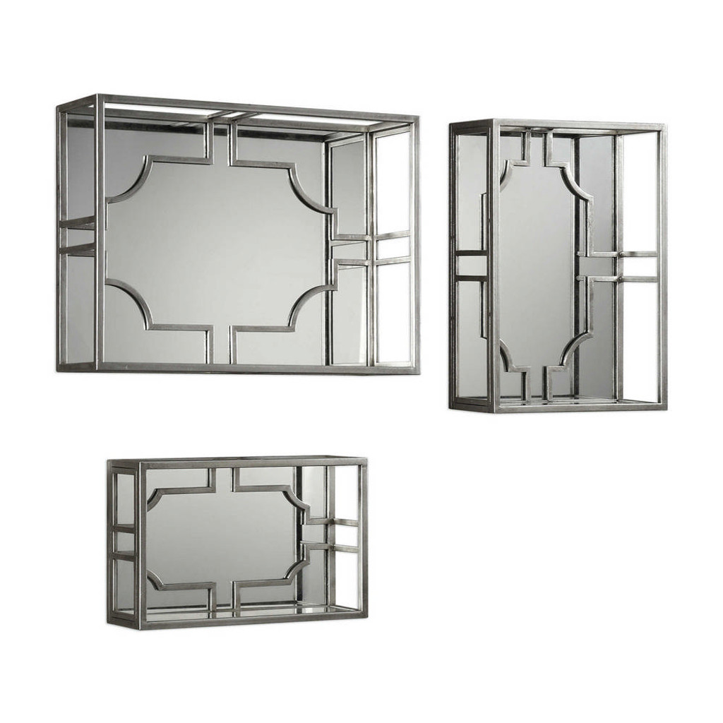 Adoria Wall Shelves S/3 by Uttermost