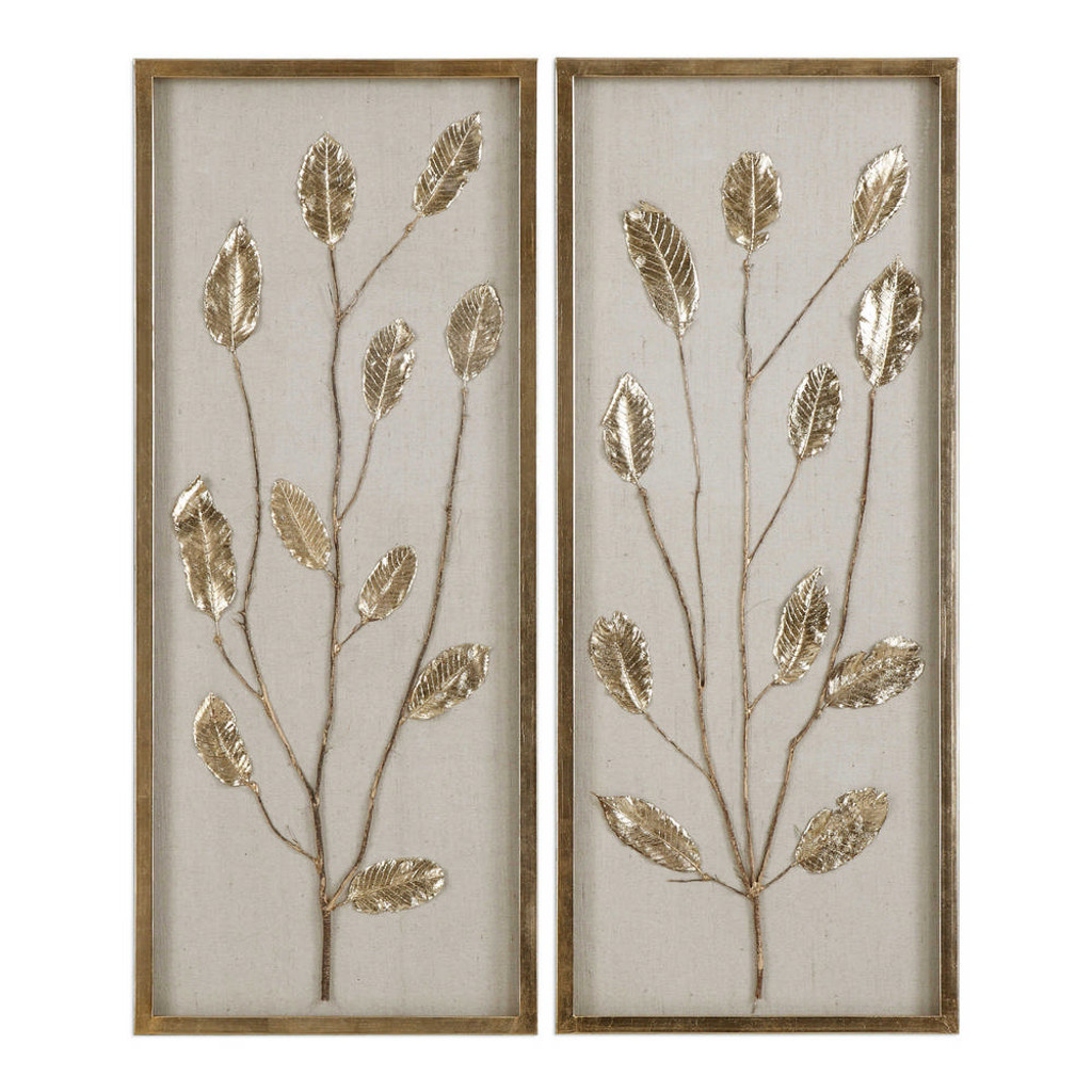 Branching Out Shadow Box S/2 by Uttermost
