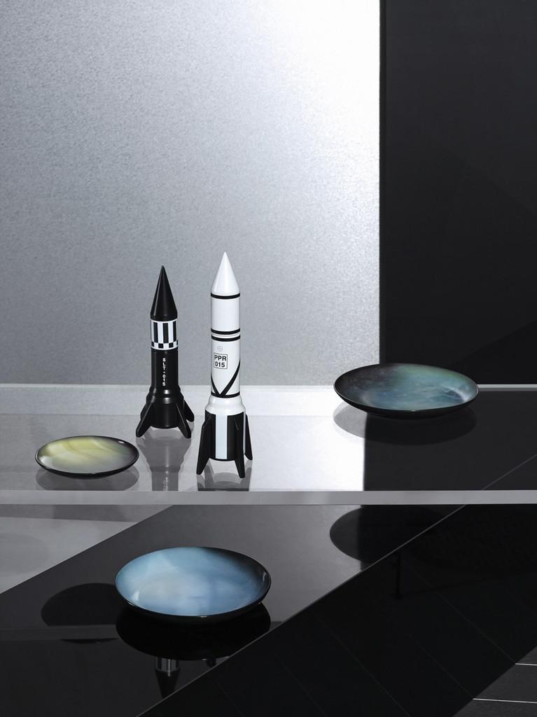 Rocket Salt & Pepper Grinders - Cosmic Diner range by Diesel Living with Seletti