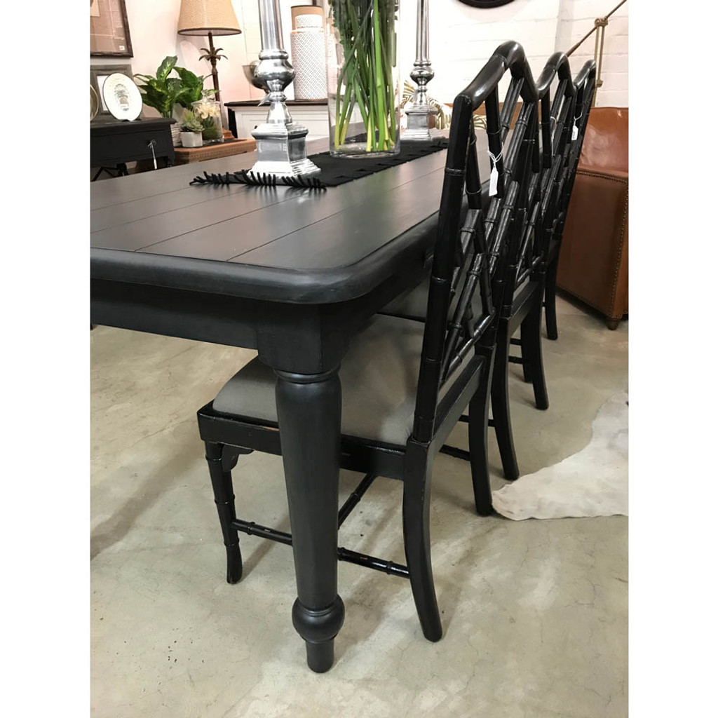 Farmhouse Dining Table 2.1m - Espresso (EX-DISPLAY)