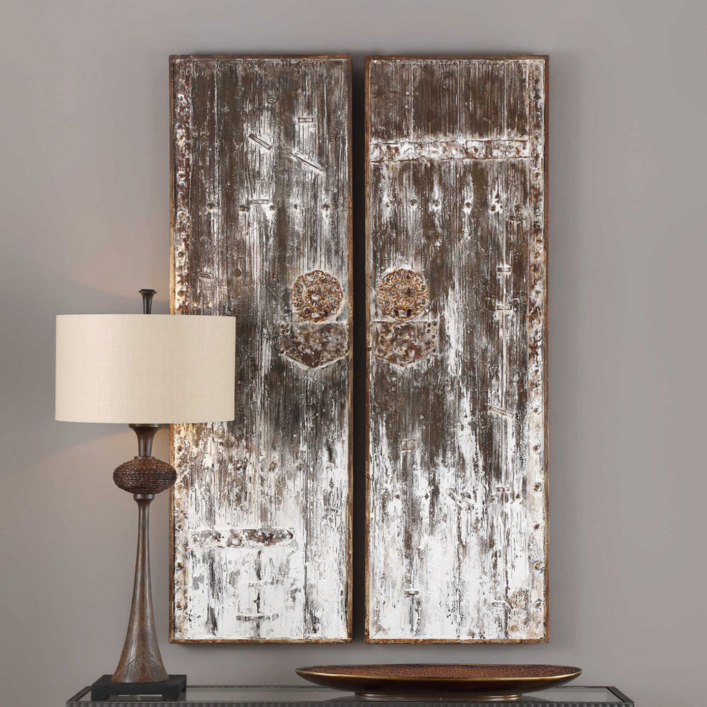 Giles Wall Decor S/2 by Uttermost