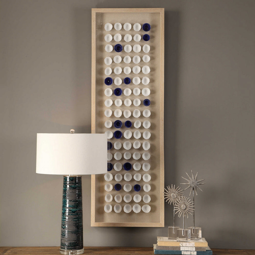 Cobalt Shadow Box by Uttermost
