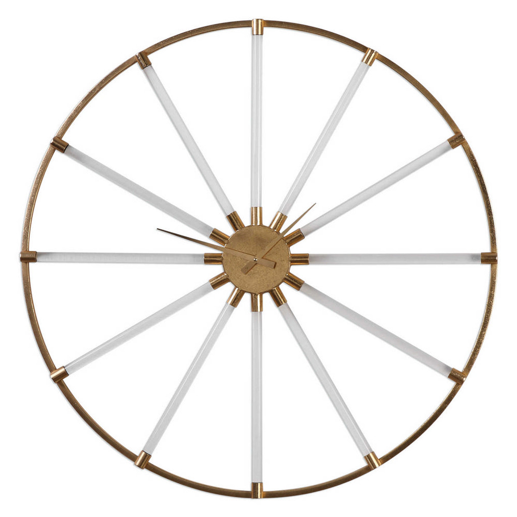 Kyota Wall Clock by Uttermost