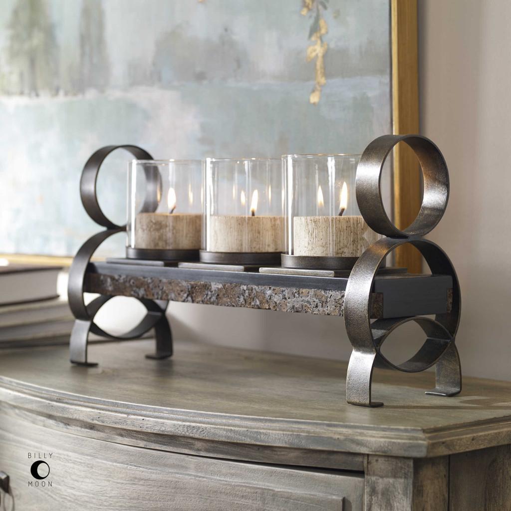 Mila Candleholder by Uttermost